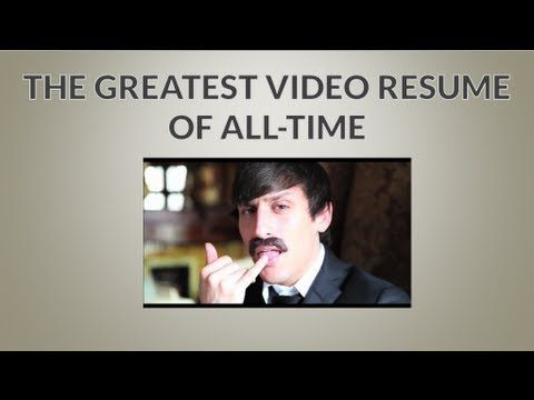 31 best Video Resume\/Cover Letter images on Pinterest Calm - video resume