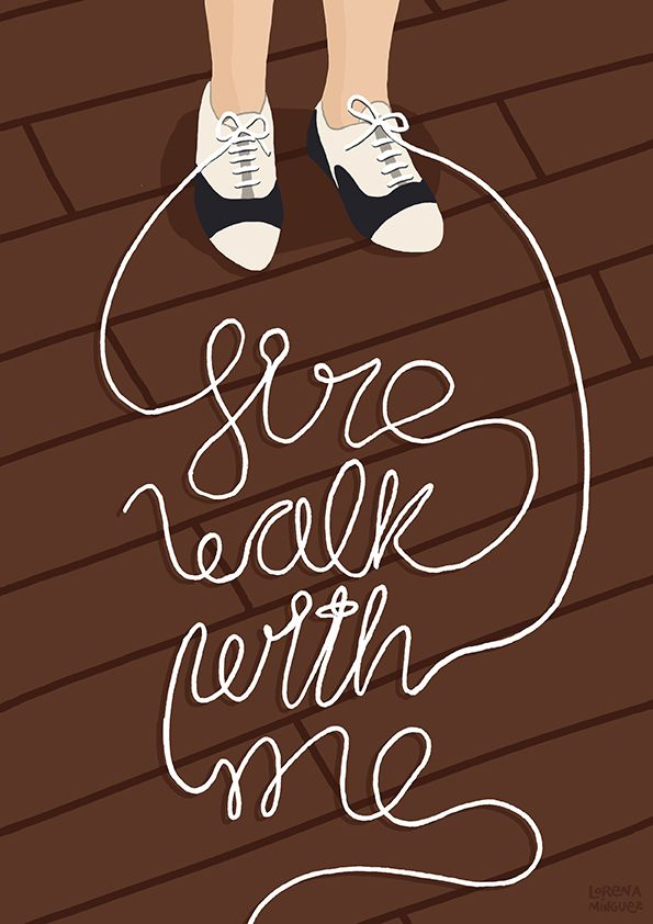 "Twin Peaks (David Lynch) illustration ""Fire walk with me"". Audrey Horne shoes. Print available on etsy: https://www.etsy.com/listing/229730424/ilustracion-de-twin-peaks-fire-walk-with"