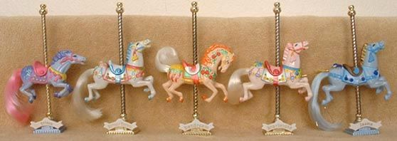 Carousel Horses - got one of these for my birthday!