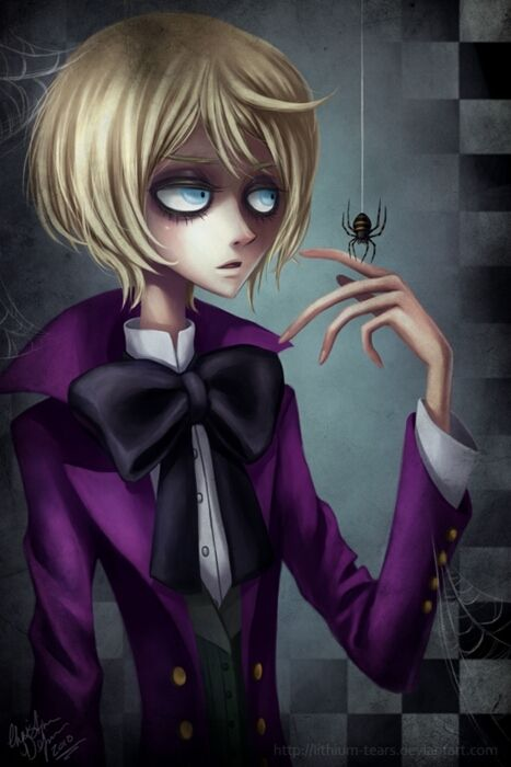 Alois would make the best tim burton character dont even talk to me