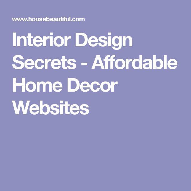 best 25+ home decor websites ideas on pinterest | design a room