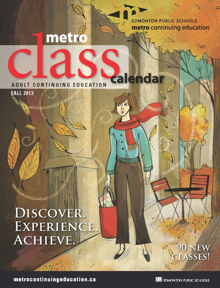 Our Adult Continuing Education Fall 2013 class calendar has just been released!! Browse the over 350 courses we are offering from September to December, including 90 all-new classes!