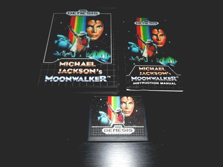 from $7999 - Michael Jackson's Moonwalker Complete #sega Genesis Game Cib Michael Jackson
