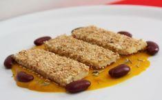 Tofu croccante al rosmarino e sesamo con crema di zucca - Tutte le ricette dalla A alla Z - Cucina Naturale - Ricette, Menu, Diete