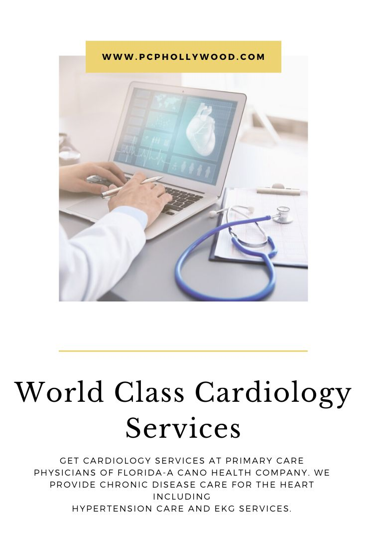 Get cardiology services at primary care physicians of