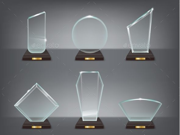 Illustration of Modern Glass Awards