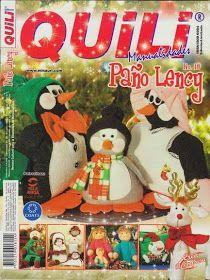 Revistas de manualidades gratis: Como hacer muñecos pinguinos navideños