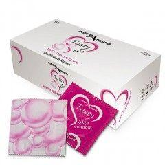 Prezerwatywy MoreAmore Tasty Skin - o zapachu Gumy Balonowej - 100 szt.