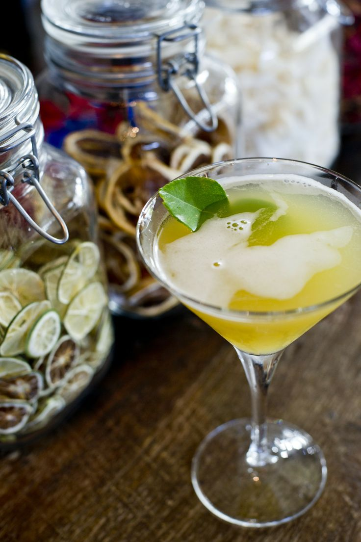 Pineapple Kaffir Lime Margarita