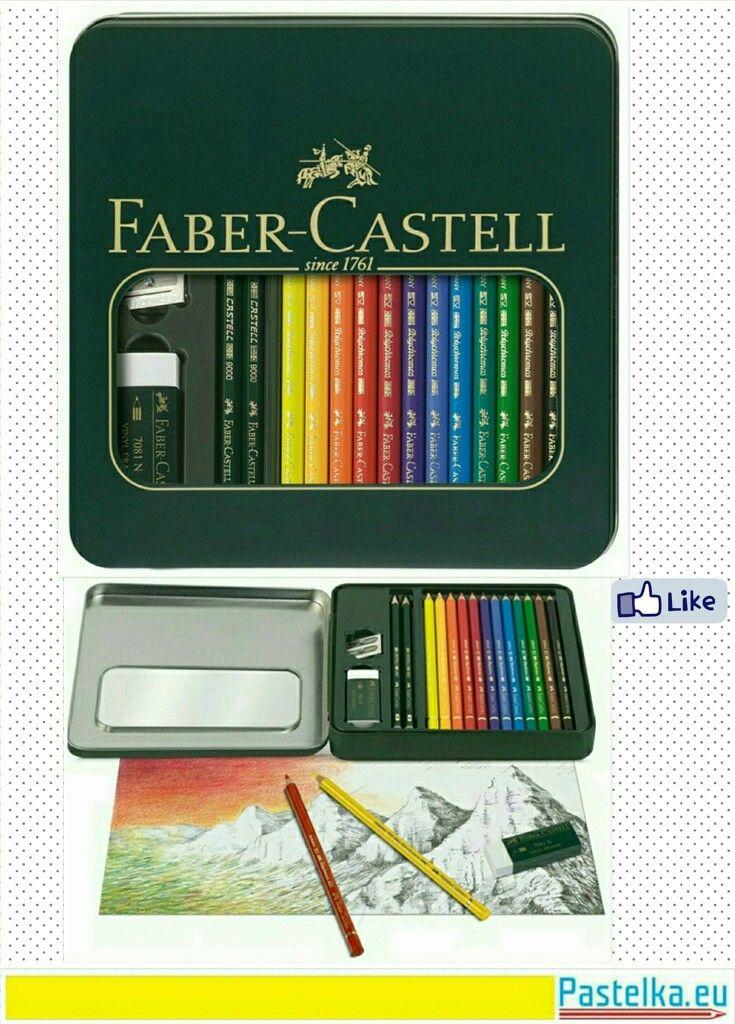 Pastelka Polychromos + CASTELL 9000 Umělecké pastelky Polychromos jsou mezinárodně ceněny profesionálními i poloprofesionálními uživateli pro svou nepřekonatelnou kvalitu. Ať už pro grafické použití, svobodnou uměleckou tvorbu nebo exaktní kolorování plánů přesvědčují pastelky Polychromos svým vysokým standardem kvality. Vysoce kvalitní barevné pigmenty nepřekonatelné barevné stálosti a brilantnosti. Silná tuha na bázi vosku odolná proti rozmazání a vodě, měkký, barevně sytý otěr. Zamezení…