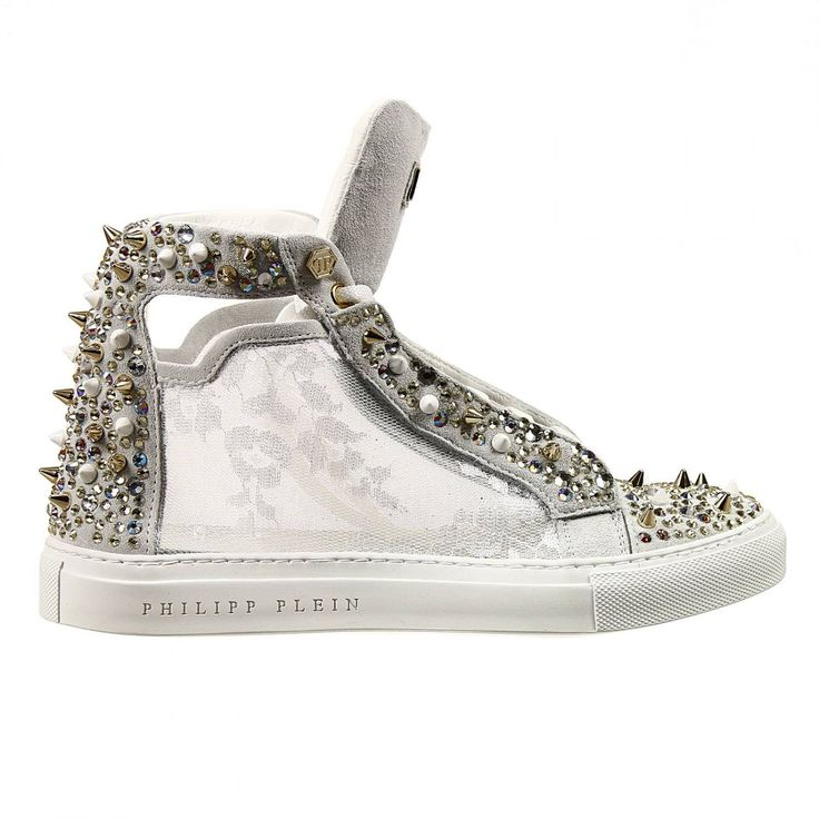 philipp plein 2017 women | Philipp plein Sneakers Woman in Metallic | Lyst
