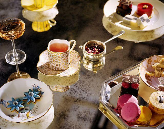 afternoon tea // via the Langham London