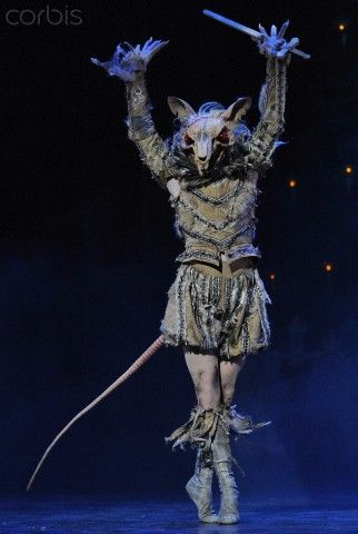 James Streeter as the Mouse King in English National Ballet's Nutcracker. Photo…