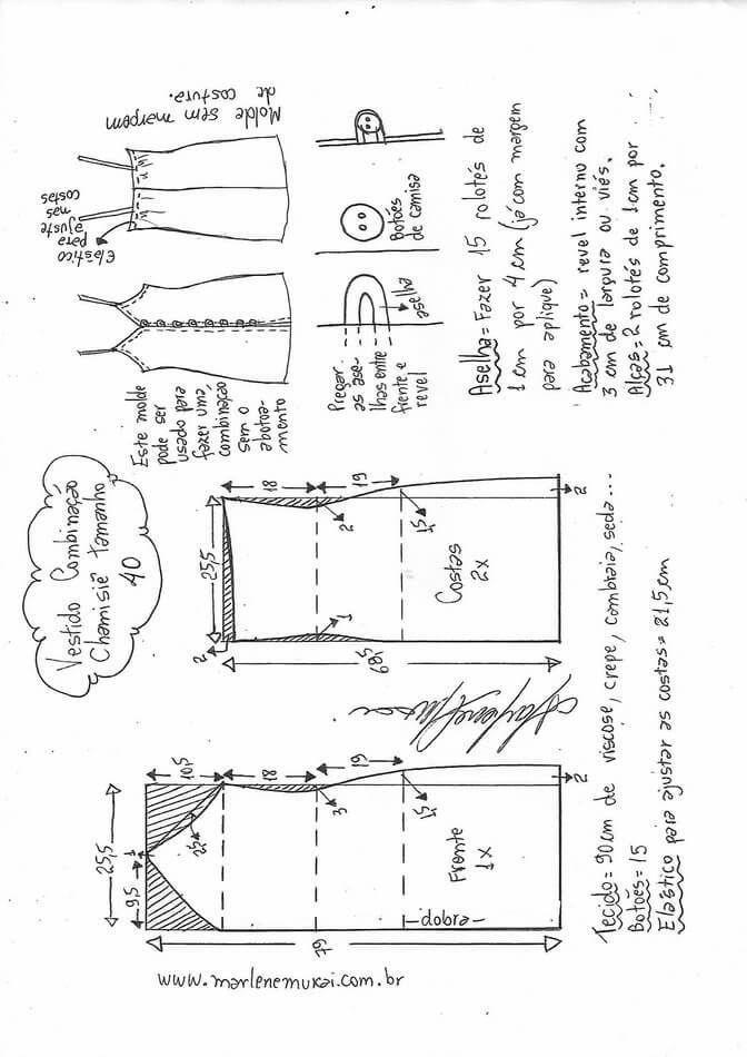 Pin de Pola silva en Moldes | Pinterest | Costura, Patrones de ...