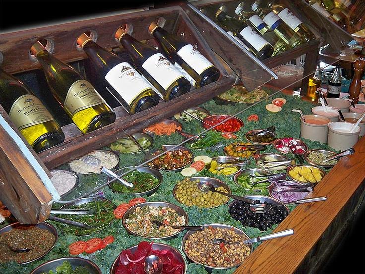 Good food and wine
