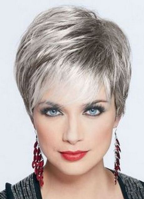 Cortes de cabello para mujer gris