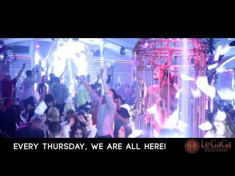 """Every Thursday """"WE ARE ALL HERE"""" @ LeGaGa Bucharest"""