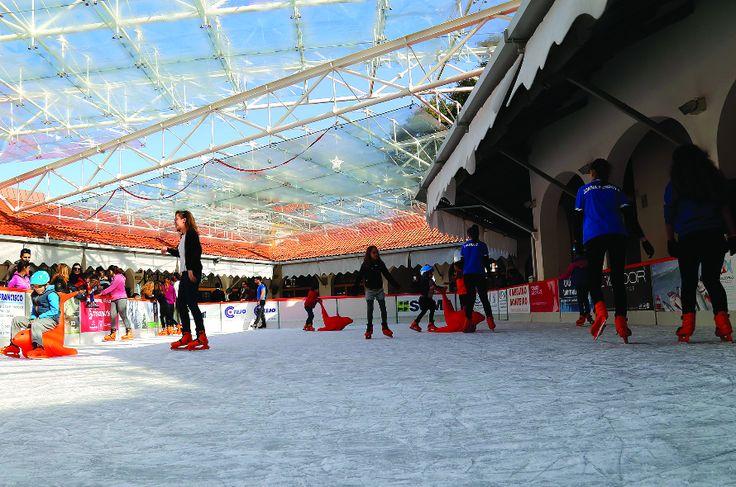 Leiria Cidade Natal volta a 30 de Novembro com pista de gelo maior  #leiria #portugal #pistadegelo #natal #blog