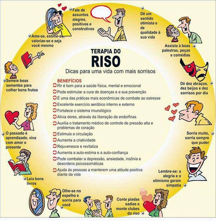 #Terapia do #riso...#Rir faz muito bem.;) Saiba como fazer mais coisas em http://www.comofazer.org