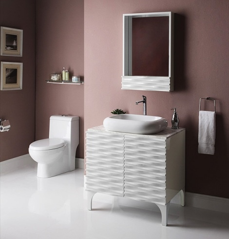 360 best bathroom vanities cabinets images on pinterest accanto 24 inch modern white