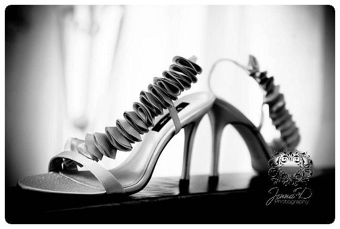 wedding shoes, wedding photographer, bridal photos