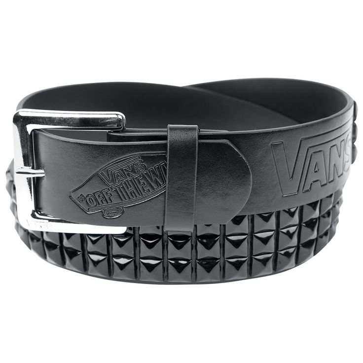 "Cintura ""Studded Leather Belt"" del brand #Vans."