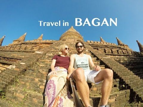 Bagan | Myanmar Travel | The Married Wanderers explore the best spots in Bagan with their GoPro