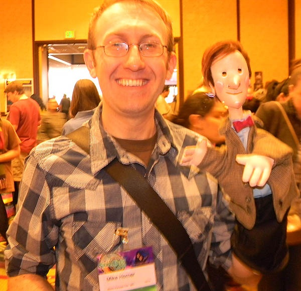"""Interview: Mike Horner of """"The Timey Wimey Puppet Show"""" #DoctorWho"""