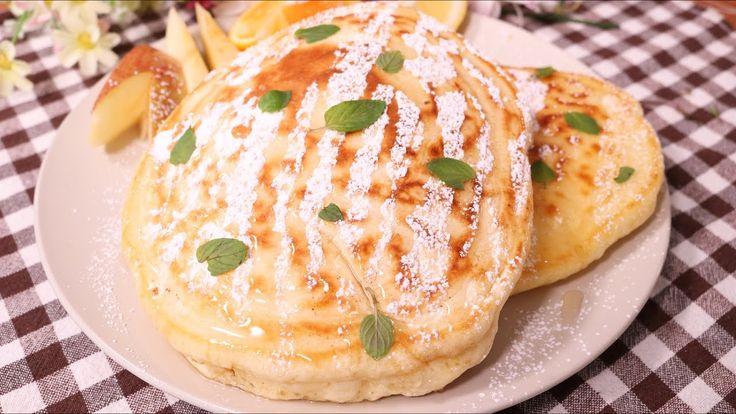 朝食にぴったり!ふわふわパンケーキ   Fluffy Pancake   KURASHIRU[クラシル]