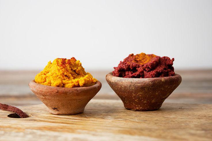 Lalakitchen Hummus de Zanahoria y Remolacha