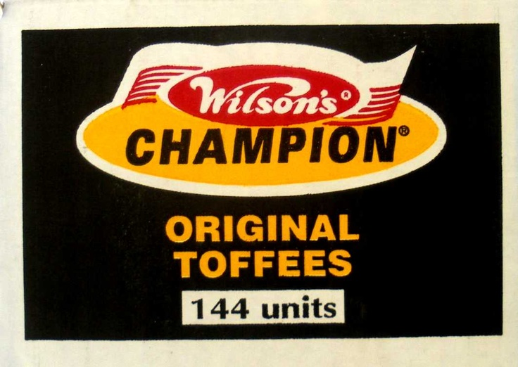 Wilson's Champion toffees | Iconic South African brand