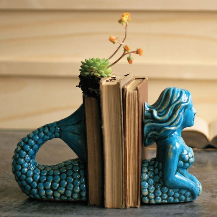 Fun detail - Under the Sea Bookends