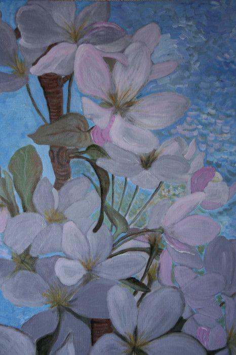 Appelbloesem-acryl //canvas.