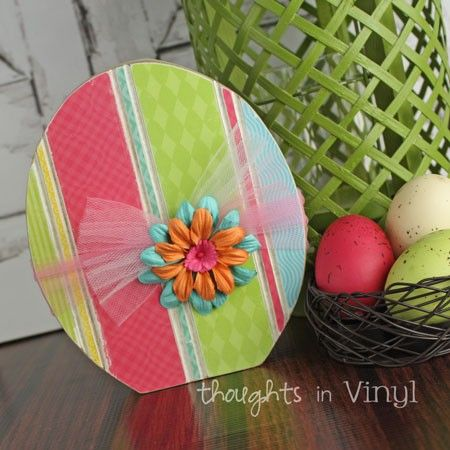 Wooden Easter Egg | Easter craft | CRAFT KITS {www ...
