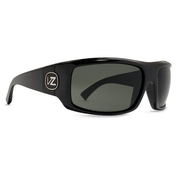 #VonZipper #Sunglasses #Clutch Black Gloss Frame with Black Lens