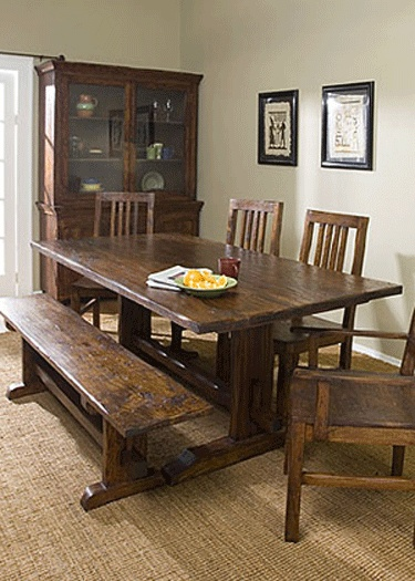 Sequoia Trestle Dining Table Dining Tables Pinterest