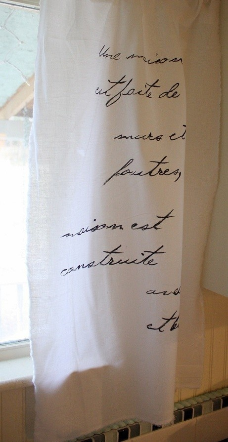 poetry curtains