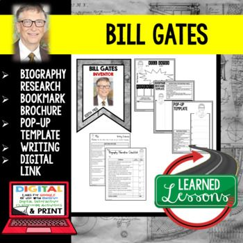 bill gates biography essay Free coursework on bill gates biography from essayukcom, the uk essays company for essay, dissertation and coursework writing.