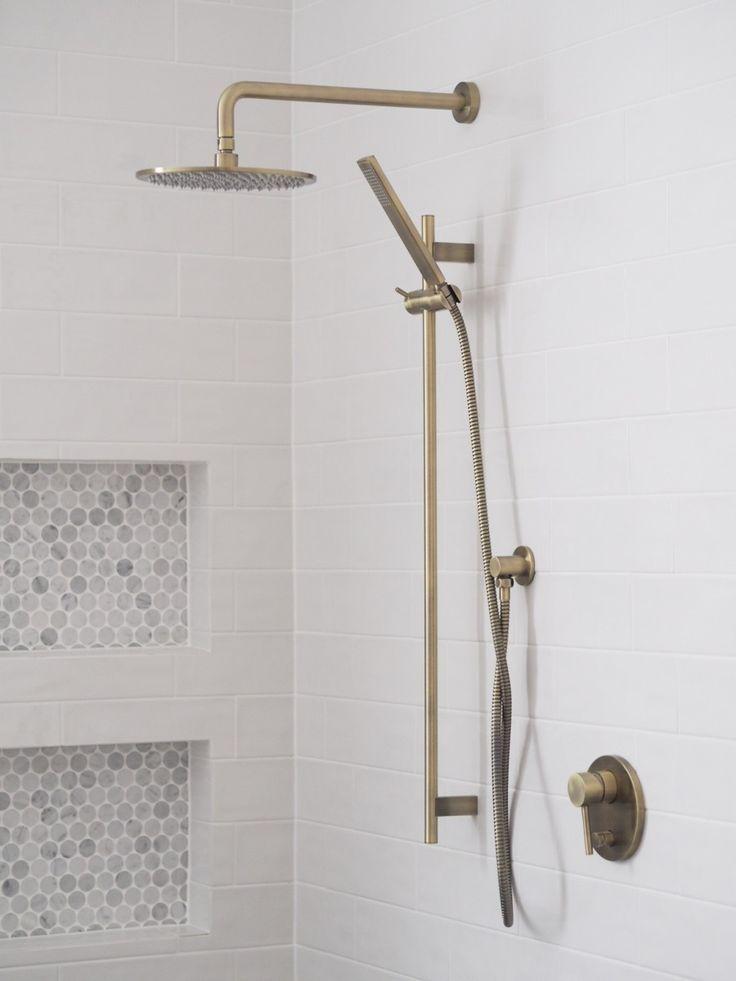 Brass Shower Hardware Brass Shower Head Shower Rail Brass Bathroom Fixtures