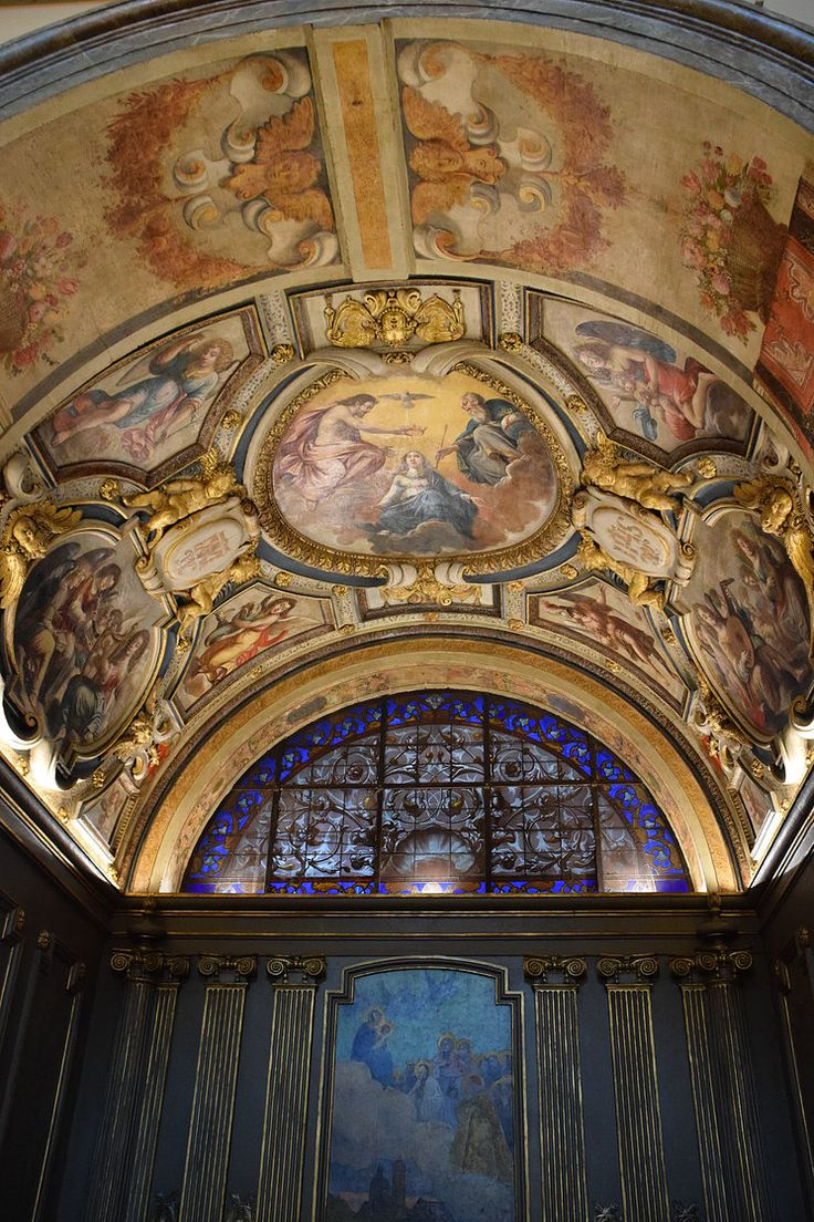 The Chapel of Rieux in St-Joseph-des-Carmes in Paris. This is where Natalie hides when she flees the room with the blood shrine.