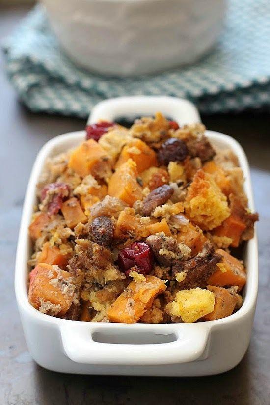+ ideas about Cornbread Stuffing on Pinterest | Cornbread, Stuffing ...