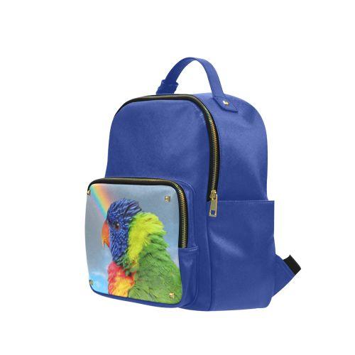 Rainbow Lorikeet Campus backpack/Large. FREE Shipping. FREE Returns. #lbackpacks #parrots