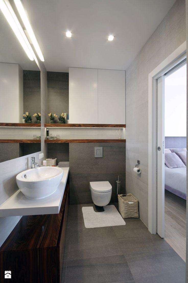 Łazienka styl Nowoczesny - zdjęcie od ZAWICKA-ID Projektowanie wnętrz