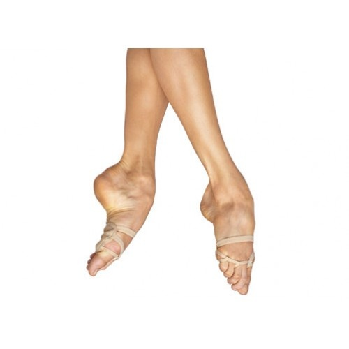 Bloch Foot Thong II, Ladies  Suede leather forefoot pad protects the ball of the foot from abrasion, particularly in styles such as contemporary, jazz and lyrical. Elastics over foot secure the Foot Thong. Extra instep elastic for security.  Width : X  Colours : Beige  Price: 15.30€