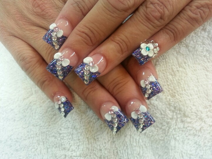 Christmas 3d Nail Art With Ring: 210 Best Images About New Years Nails On Pinterest