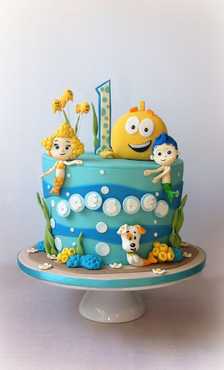 Birthday Cake Bubble Guppies