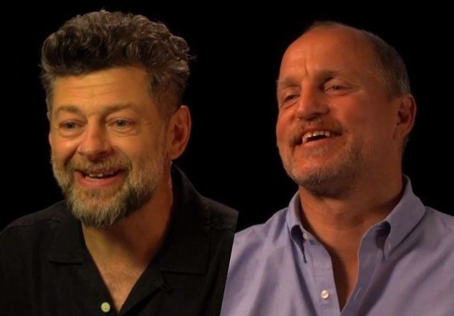 CS Video: Andy Serkis Woody Harrelson and the Apes Cast Andy Serkis Woody Harrelson and the War for the Planet of the Apes cast ComingSoon.net got the chance to go to London to talk to theWar for the Planet of the Apescast including Andy Serkis (Caesar) Woody Harrelson (The Colonel) Steve Zahn (Bad Ape) and Amiah Miller (Nova) as well as director Matt Reeves. Check out our chats in the video player below! InWar for the Planet of the Apes the third chapter in the rebootedtake on the…