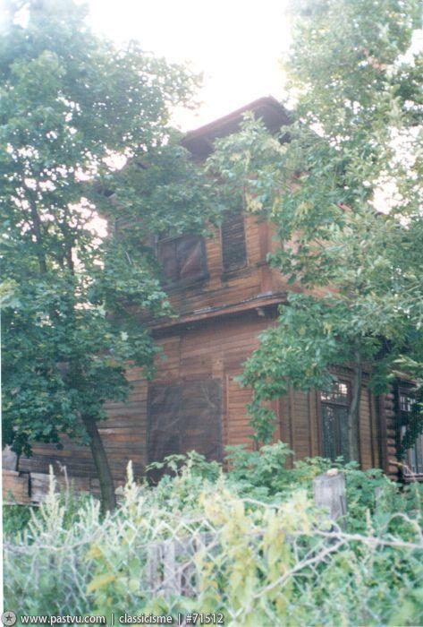 Старая дача в Царицыне - мама если идти от дома, заколоченный дом стоял справа от дороги. На нем была выгоревшая табличка с упоминанием фамилии Чехова