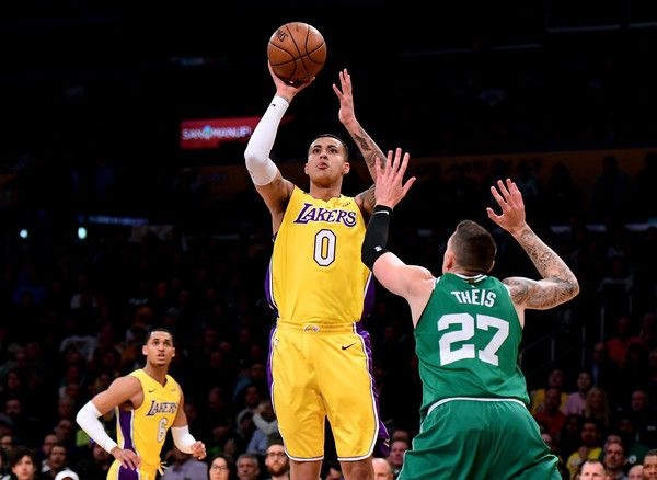 Kyle Kuzma Photos Photos Boston Celtics V Los Angeles Lakers In 2020 Boston Celtics Los Angeles Lakers Kyle Kuzma