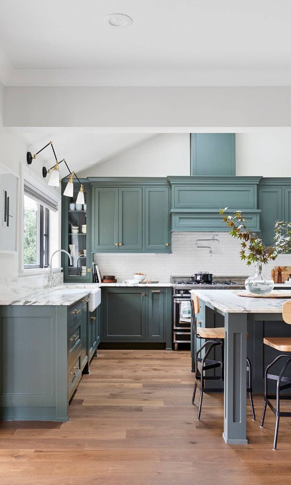 60 Blue Kitchen Cabinet Ideas To Breathe Life Into Your Kitchen